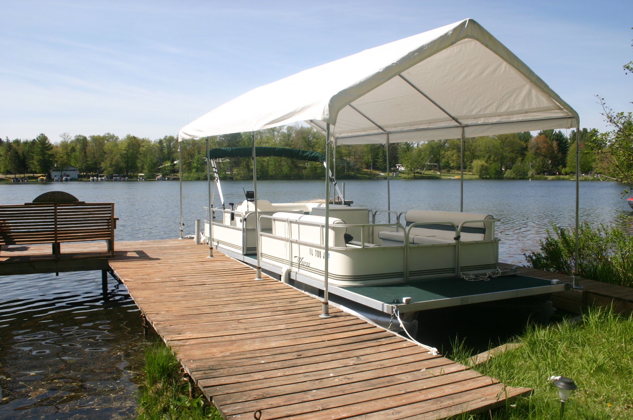 Flower Garden Fence Ideas together with Pontoon Boat Plans also PVC ...